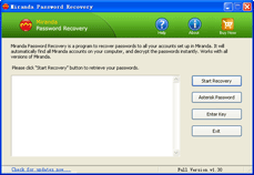 Mirandan Password Recovery