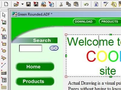 Modern Internet Page Development System