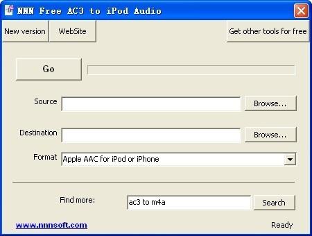 NNN Free AC3 to iPod Audio