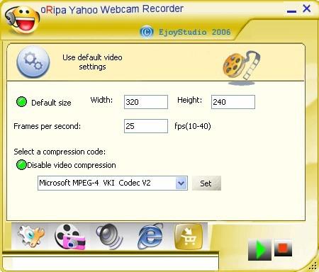 oRipa Yahoo Webcam Recorder