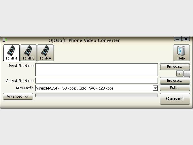 OJOsoft iPhone Video Converter