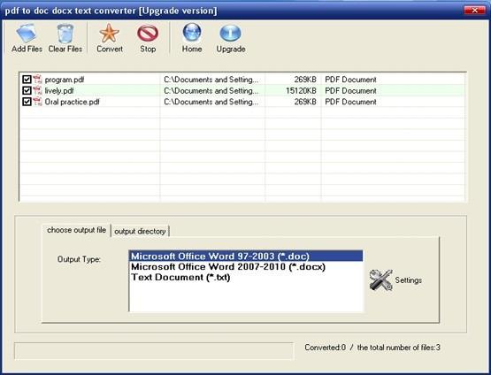 pdf to doc docx text converter