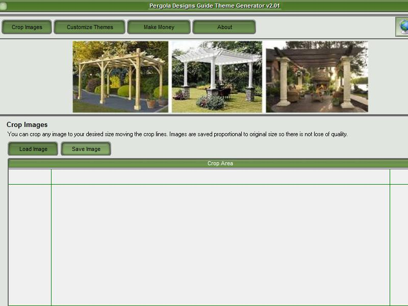 Pergola Designs Guide Theme Maker