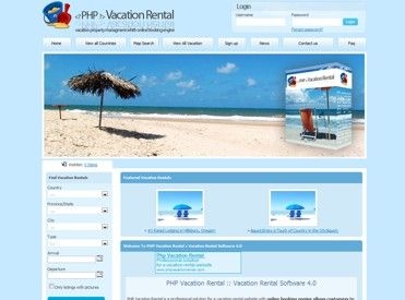 PHP Vacation Rental - Vacation Rental/Re