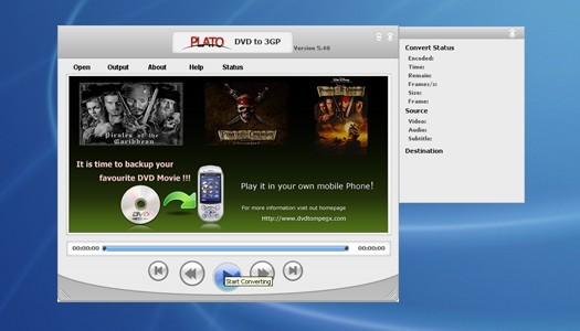 Plato DVD 3GP Ripper
