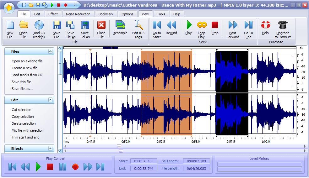 Power Sound Editor Free 2008