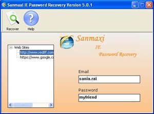 Recover Email Account Passwords