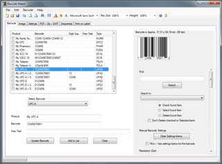 Retail Barcode Maker Pro.