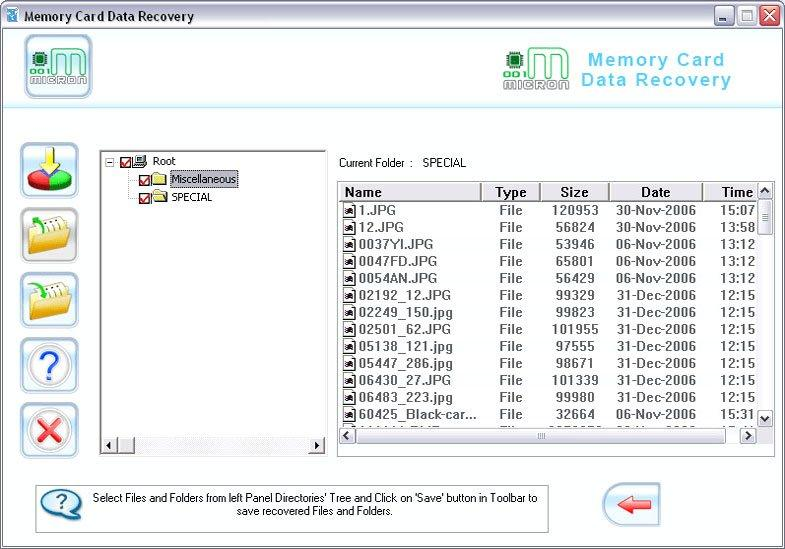 SanDisk Memory Card Files Recovery