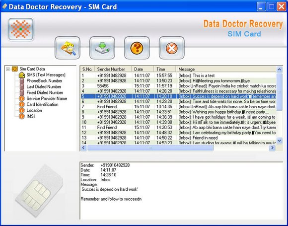 Sim Backup Software