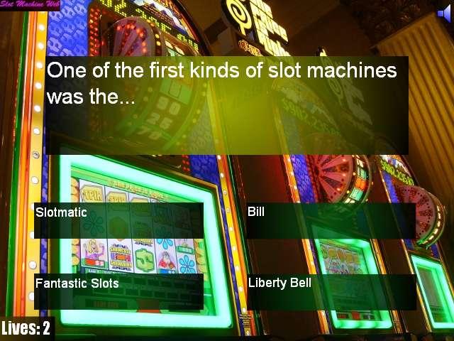 Slot Machines History Quiz