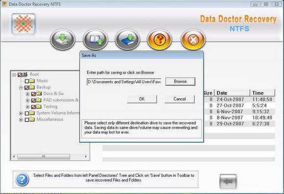 Undelete Hard Disk Data