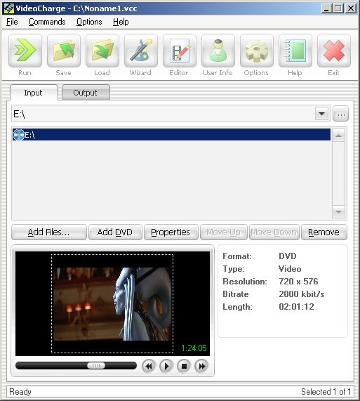 Videocharge Full