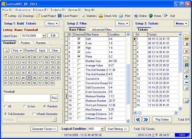 Windows Lotto007 For Lotto