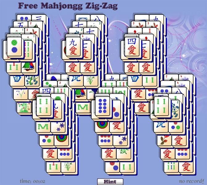 Zig Zag Free Mahjongg