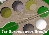 Screenshot of 1st Screensaver Flash Studio Standard