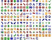 Screenshot of 24x24 Free Button Icons