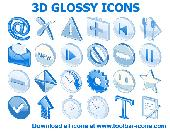 3D Glossy Icons Screenshot