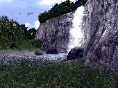 3D Living Waterfall Screensaver Screenshot