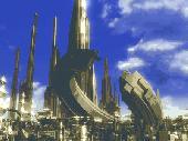 3D Megapolis Screensaver Screenshot