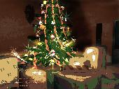 3D Merry Christmas Screensaver Screenshot