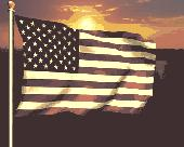 Screenshot of 3D Realistic Flag Screensaver