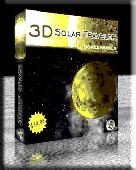 Screenshot of 3D Solar Traveler Screensaver