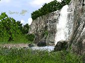 3D Waterfall Screensaver Screenshot