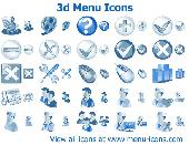 3d Menu Icons Screenshot