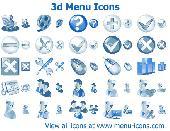Screenshot of 3d Menu Icons