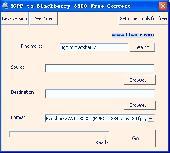 3GPP to Blackberry 8300 Free Convert Screenshot