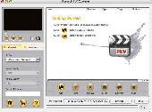3herosoft FLV Converter for Mac Screenshot