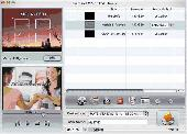 3herosoft MP4 to DVD Burner for Mac Screenshot