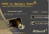 4Videosoft DVD to Archos Suite Screenshot