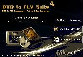 4Videosoft DVD to FLV Suite Screenshot