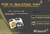 4Videosoft DVD to QuickTime Suite Screenshot