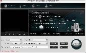 Screenshot of 4Videosoft DVD to Zune Converter for Mac