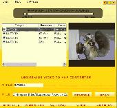 Screenshot of DigiGenius Video to PSP Converter