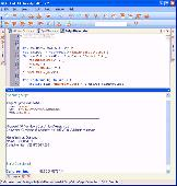 Admin Script Editor Screenshot