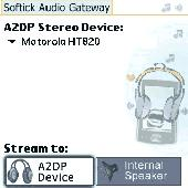 Screenshot of Softick Audio Gateway