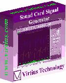 Screenshot of Virtins Sound Card Signal Generator