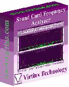 Virtins Sound Card Spectrum Analyzer Screenshot