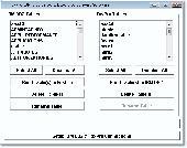 Screenshot of FoxPro IBM DB2 Import, Export & Convert Software
