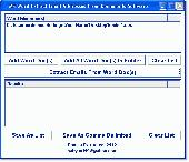 MS Word Extract Email Addresses From Documents Software Screenshot