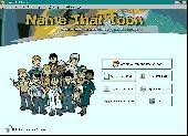 Screenshot of Name-That-Toon Personalized Cartoons