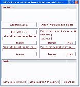 MS Word Extract Data & Text In Multiple Documents Software Screenshot