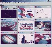 Screenshot of Graphics4VO Beispiel Programm (Deutsch)