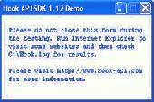 Hook API SDK Screenshot