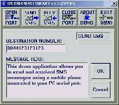 HS GSM SMS C Source Library Screenshot