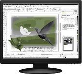 Screenshot of CorelDRAW Graphics Suite